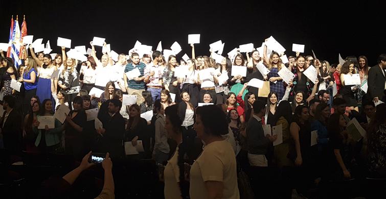 Doscientos sesenta y cinco docentes egresados del IPA recibieron sus títulos