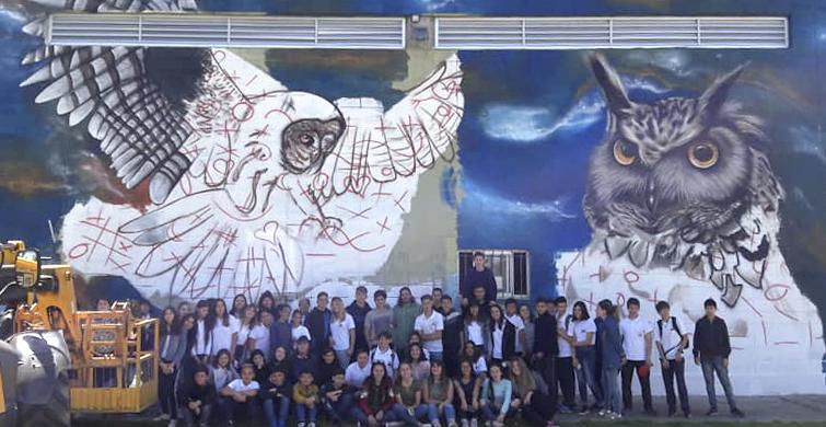 Multitudinaria celebración de los 75 años del Liceo Nº 1 de Juan Lacaze