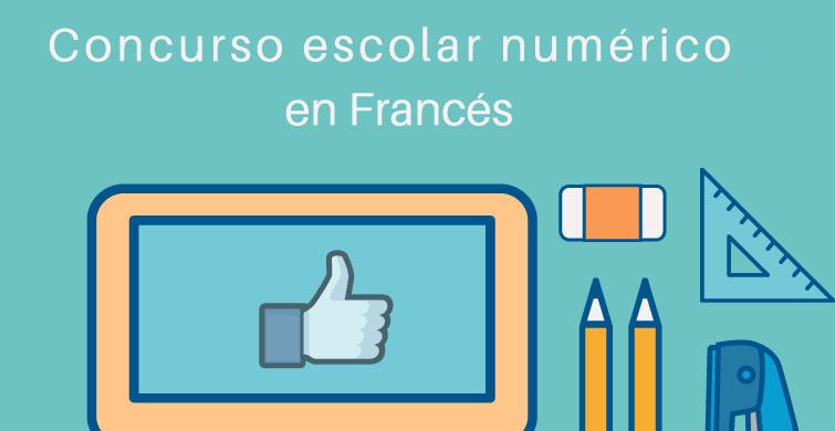 Curso escolar numérico en Frances