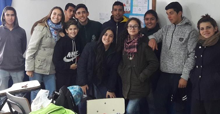 Garrapp: La aplicación para control de la garrapata generada por estudiantes del Liceo rural de Curtina