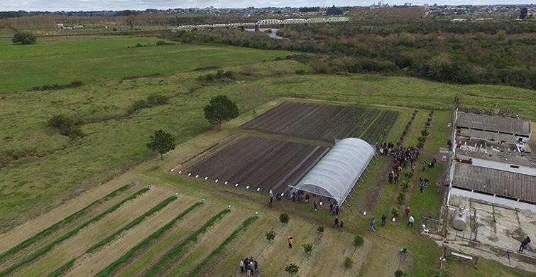 UTU cuenta con modernos equipos de riego por goteo donados por Israel en 20 escuelas agrarias