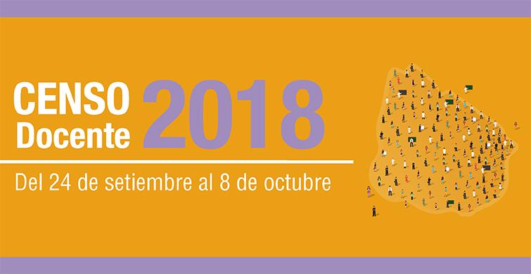 Censo docente 2018