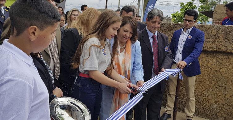 ANEP inauguró oficialmente moderno local del Liceo de Pintadito en el departamento de Artigas