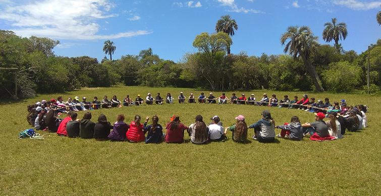 Campamento Educativo: primera escala en la inserción de estudiantes que ingresan en Enseñanza Media