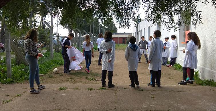 Jornadas de integración entre escolares y estudiantes de Educación Media en Maldonado