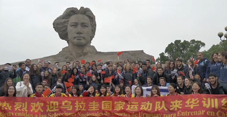 Estudiantes uruguayos viajaron a China para mejorar rendimiento deportivo