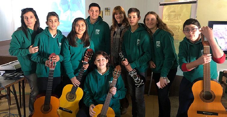 Los talleres del Liceo de Mariscala abren sus puertas a la comunidad