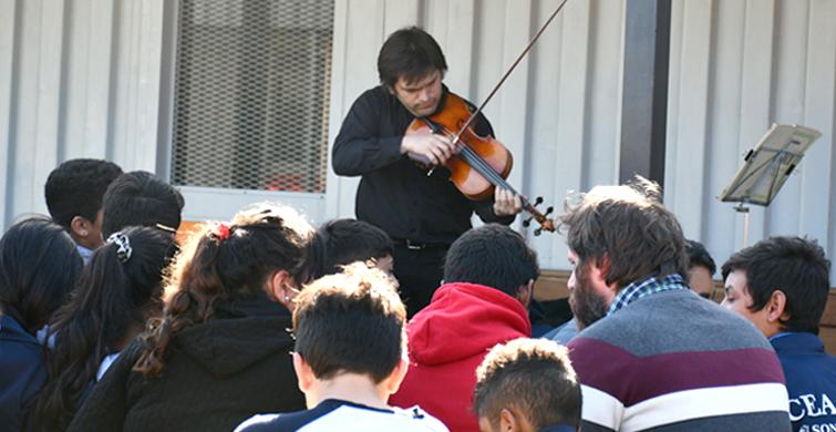 Conciertos didácticos en centros educativos de todo el país estimulan acercamiento a la música
