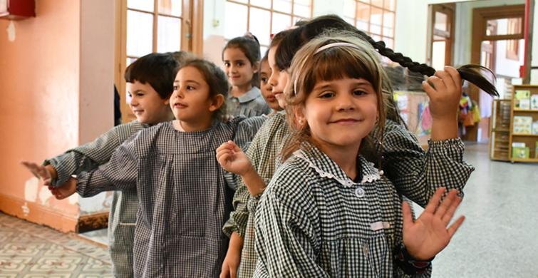 La Educación Inicial pública celebró 127 años de fructífera labor en los jardines de infantes