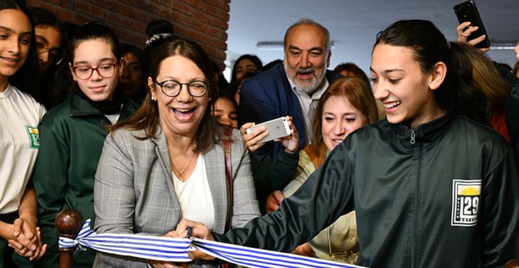 """El Liceo Nº 29 """"Alicia Goyena"""" estrenó un moderno y confortable nuevo local"""