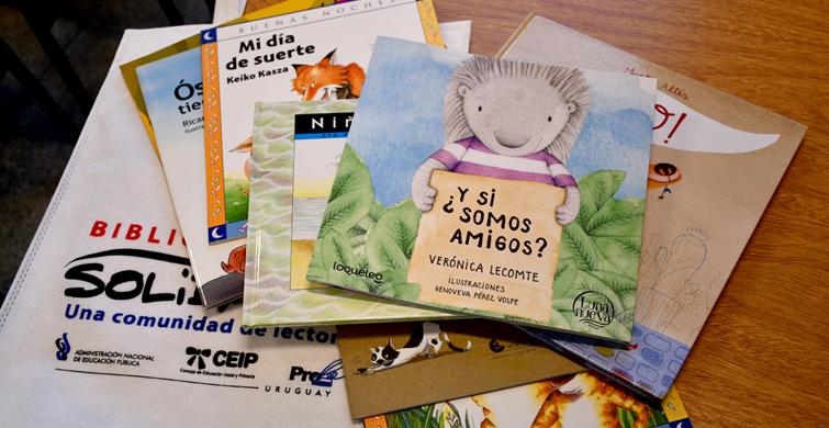 Colecciones de libros de literatura infantil llegan a escuelas inscriptas en la Biblioteca Solidaria