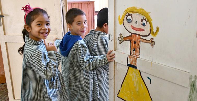Durante 2018 la matrícula de Educación Inicial creció por la inclusión de más niños de tres años
