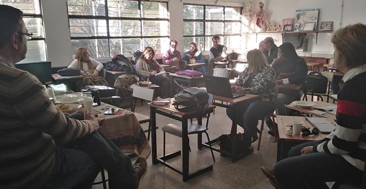 Salas docentes fortalecen pasaje y sostenibilidad de Primaria a Educación Media