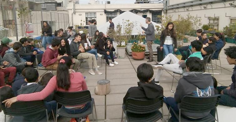 Estudiantes de Villa Tambores visitaron Montevideo