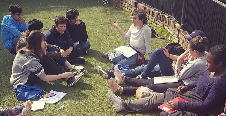 Adolescentes de Barros Blancos apuestan a la educación y el trabajo
