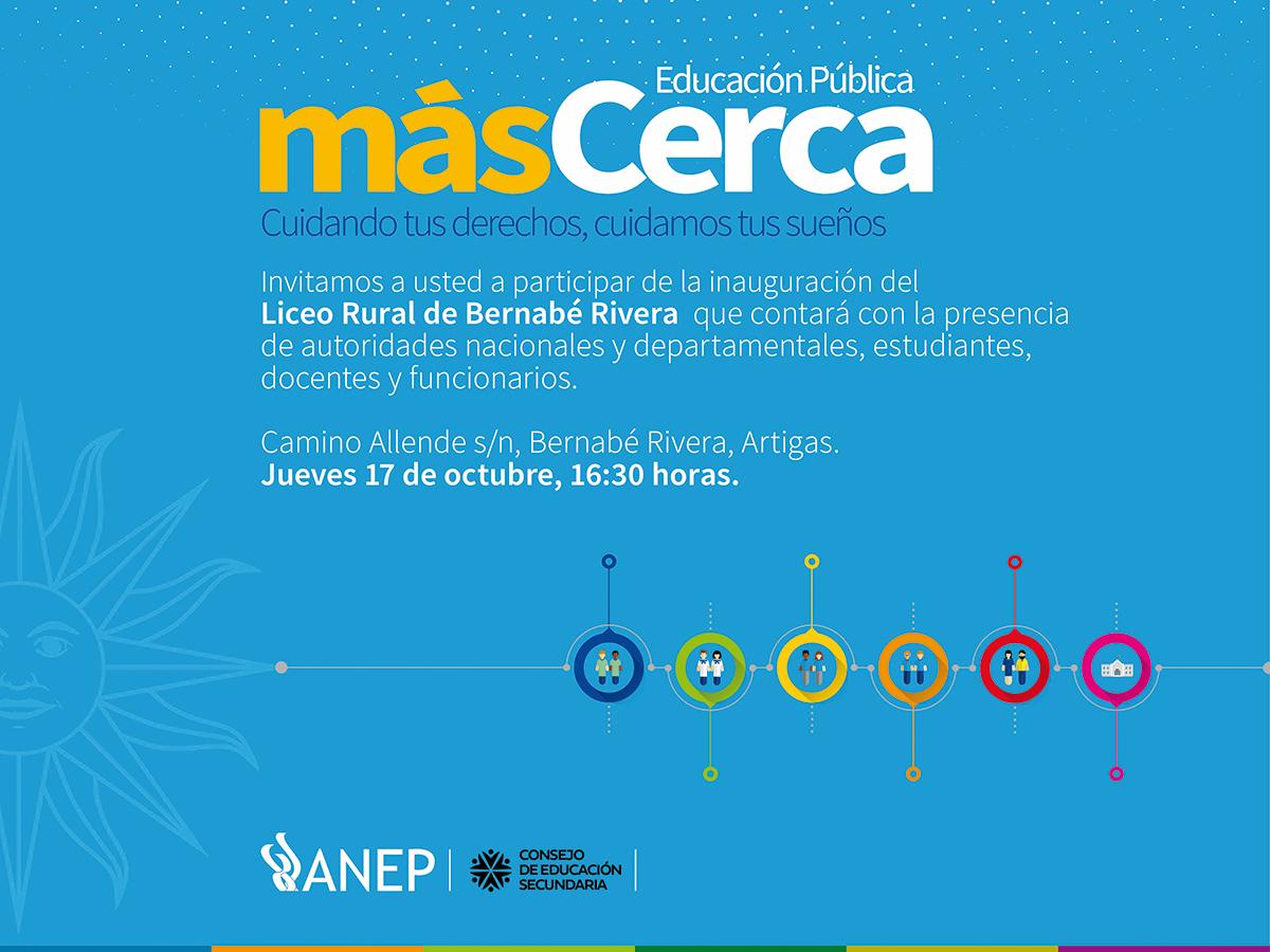 Invitacion LICEO Bernabe Rivera MasCerca 20192.jpg