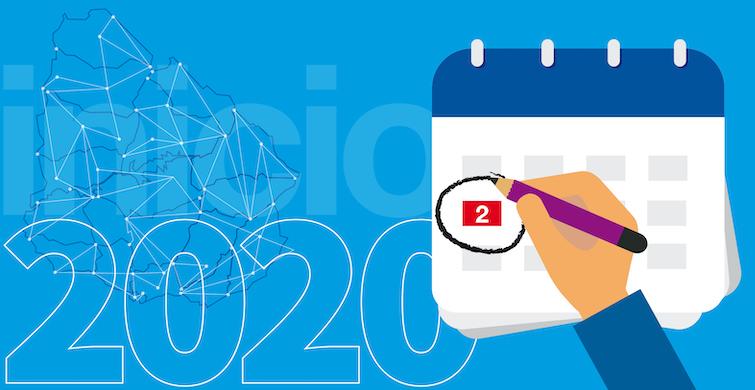 Calendario de actividades de ANEP para el 2020