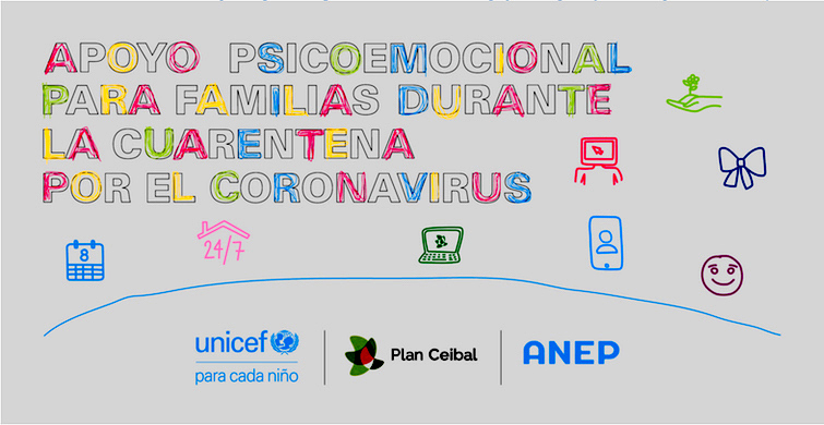 UNICEF comparte herramienta de apoyo psicoemocional para familias durante la cuarentena