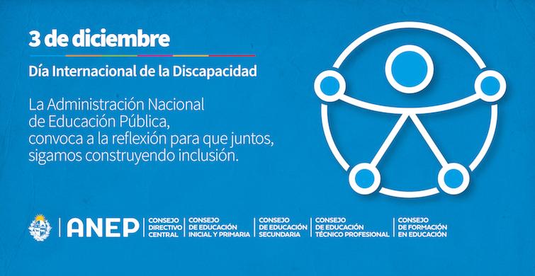 La educación inclusiva constituyeuna línea de política transversal de la ANEP para el quinquenio