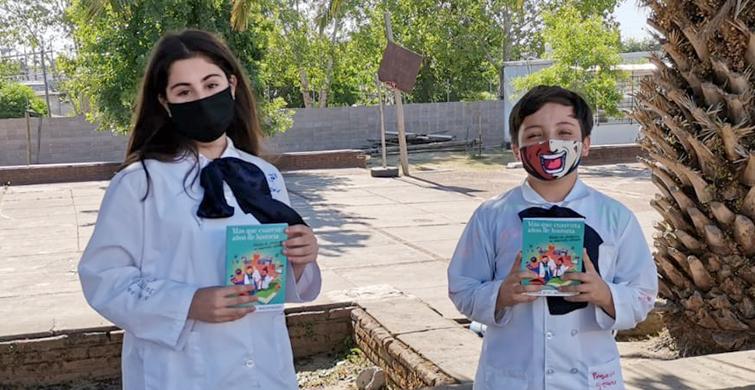 Niños y niñas de la Escuela Nº 87 de Maldonado plasman emociones y experiencias en un libro