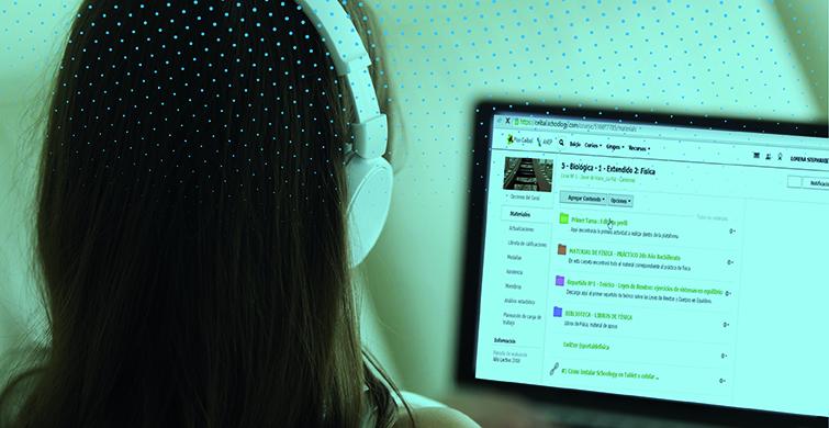 Estudiantes y docentes del Liceo Nº 54 conectados a través de la tecnología