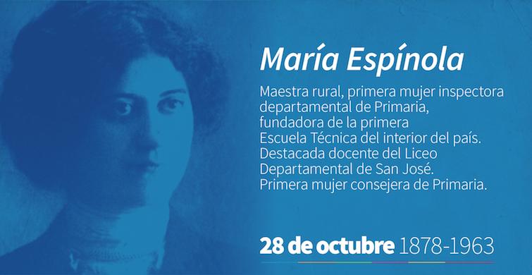 María Espínola: una docente que dejó su impronta en la Educación Pública