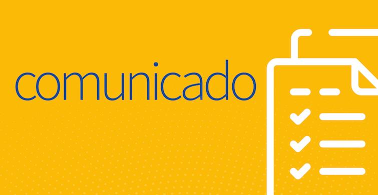 Banner de comunicados