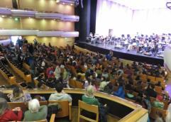 Mil quinientos estudiantes de Educación Primaria y Media asistieron a un ensayo de la Orquesta Sinfónica del SODRE