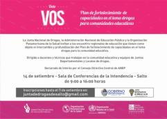 Plan de fortalecimiento de capacidades en el tema drogas para comunidades educativas
