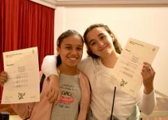 Alumnos de Educación Primaria de todo el país fueron certificados en Inglés y Portugués